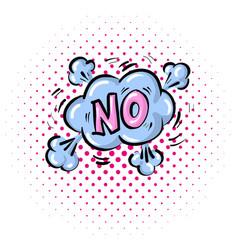 pop art comics no speech bubble vector image