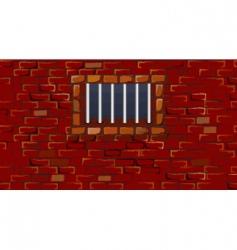 prison bars vector image vector image