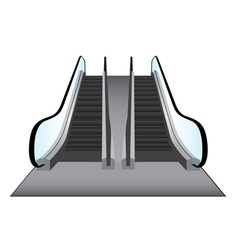 Escalators vector