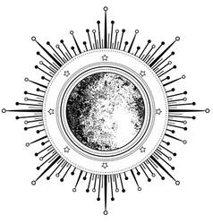 Eye providence masonic symbol all seeing vector