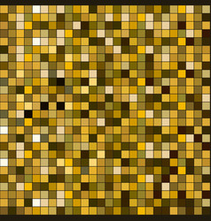 gold square sparkle texture seamless pattern vector image
