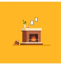 Living room Flat style vector