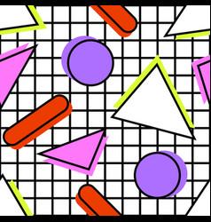 memphis pattern geometric vector image