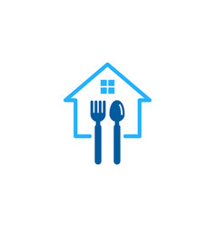 property food logo icon design vector image