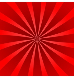 Red rays wave star burst vector