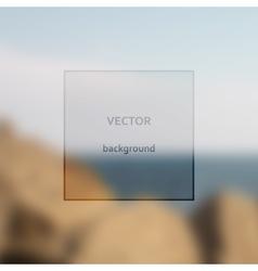 Sea art vector image