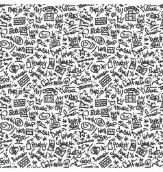 rap - seamless backgound vector image