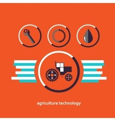 Set of characters relating to agriculture vector image