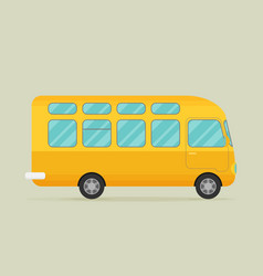 A bus eps10 vector