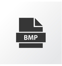 Bmp icon symbol premium quality isolated bitmap vector