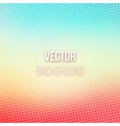 Colorful Blurred Background With Halftone Effect vector