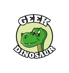 Geek design identity concept vector image