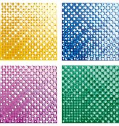halftone textures vector image