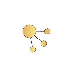 Satellite computer symbol vector