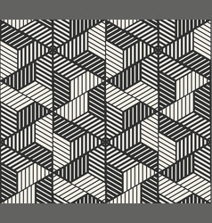 seamless lines pattern modern stylish vector image