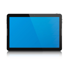 tablet computer isolated vector image