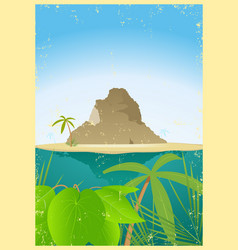 Travel agency poster vector