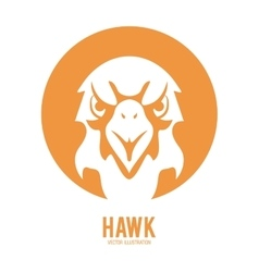 Haluk animal icon Bird design graphic vector image