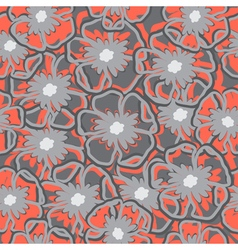 Flower pattern art vector image