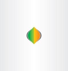 leaf spring autumn logo icon element vector image