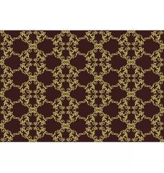 Vintage Retro floral ornament pattern vector image vector image