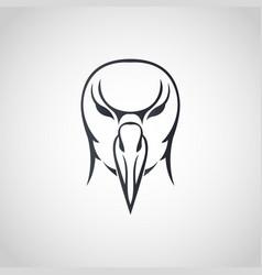 Albatross logo icon design vector