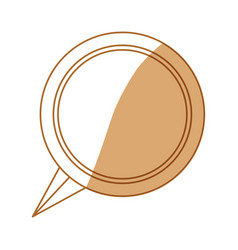 Bubble chat speakbox vector