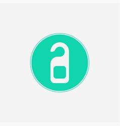 door hanger icon sign symbol vector image