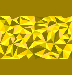 Golden ore low poly art graphic background vector