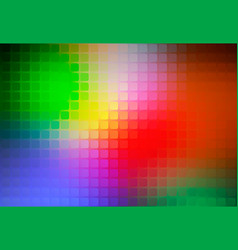 green blue orange red abstract rounded mosaic vector image