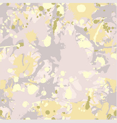 grey green yellow beige camouflage seamless vector image