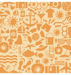 Background a beach vector image