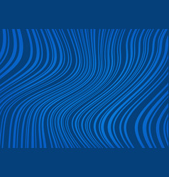 abstract dark blue background with curved lines vector image vector image