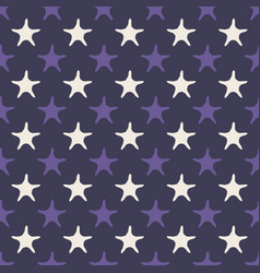 ultra violet starfish seamless pattern vector image vector image