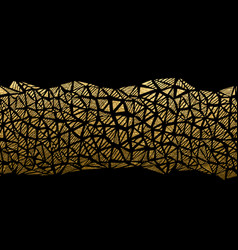 abstract gold texture seamless pattern geometric vector image
