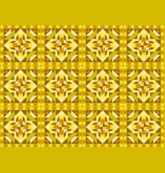 seamless mosaic pattern ornament tiles vector image