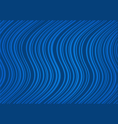 abstract dark blue background with curved lines vector image