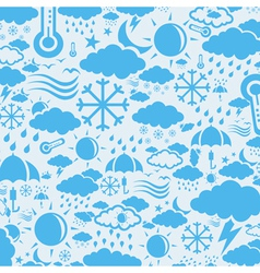 Background weather vector image