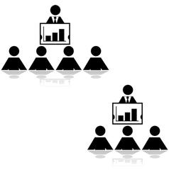 Business presentation vector