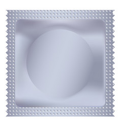 condom mockup realistic style vector image
