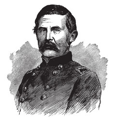 General thomas l crittenden vintage vector