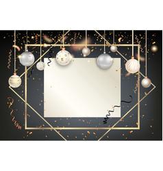 Golden holiday frame-14 vector