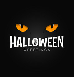 Happy halloween night holiday background vector