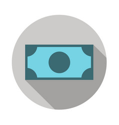 money banknote icon vector image