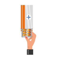 pharmaceutical drug medicine vector image