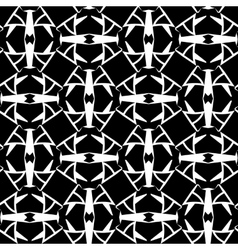 Abstract monochrome cells lattice pattern vector image vector image
