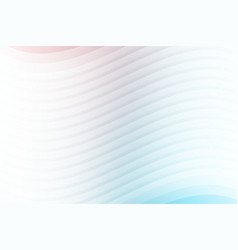 abstract white lines layer wave background vector image