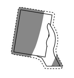 Business sheet paper vector