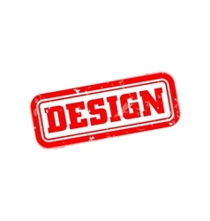 Design rubber stamp vector