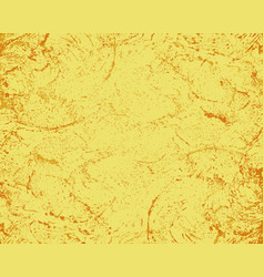 grunge yellow-orange effect of the old shabby vector image